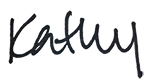 Signature- Kathy